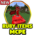 Ruby Items Mod for Minecraft PE icon