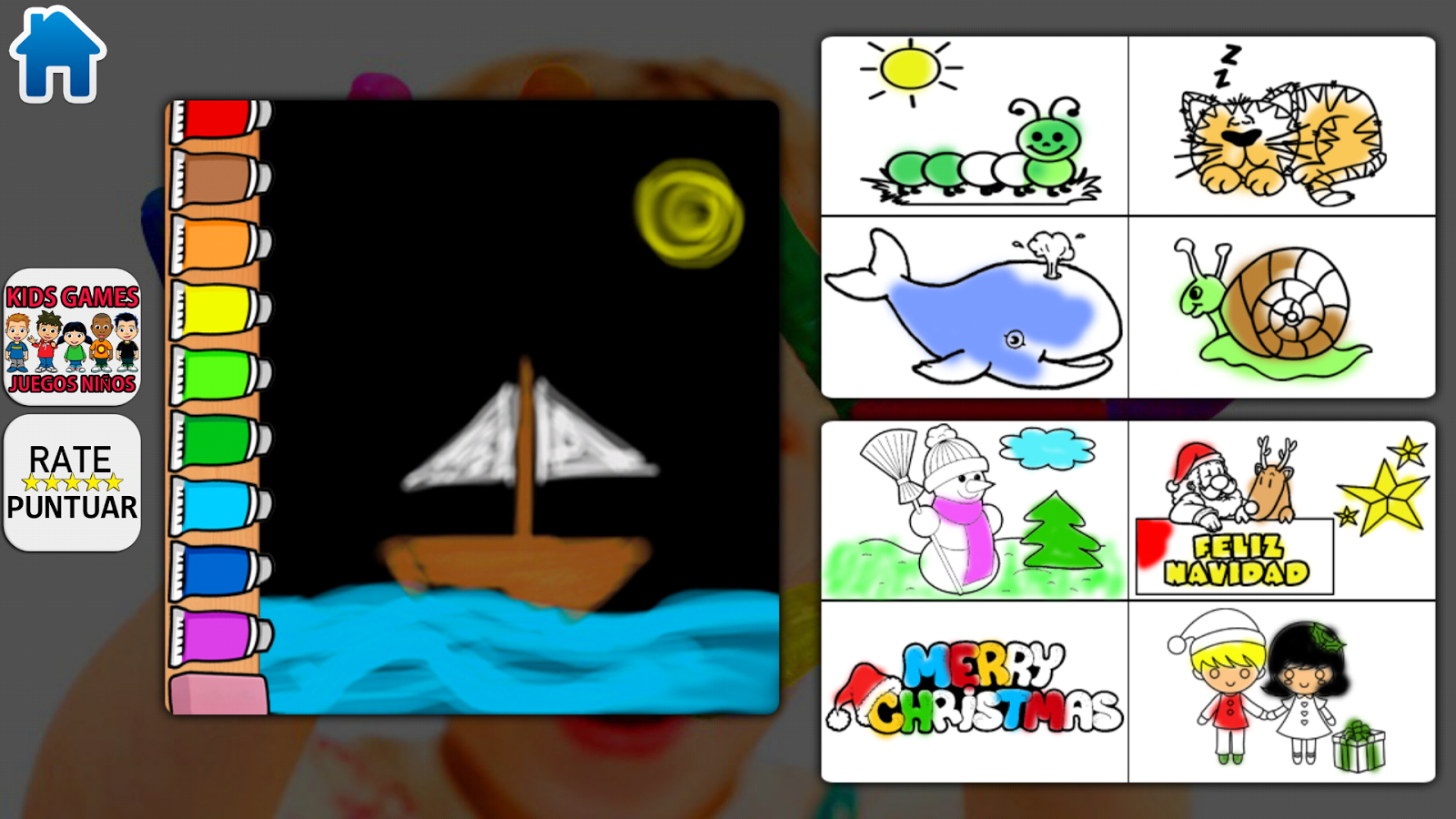 Kids Paint Free Screenshot