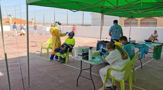 Salud cita a 1.180 personas este jueves a cribados en Tabernas, Viator y Berja