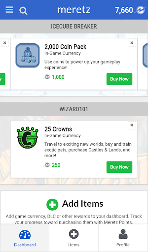 Meretz - Earn Loot Every Step of the Way Screenshot