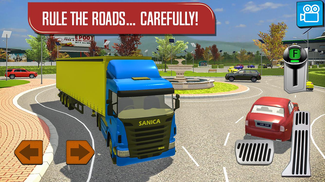 Delivery Truck Driver Simulator- screenshot