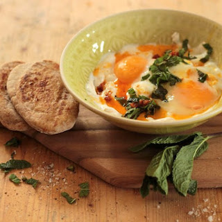 Zingy Turkish Poached Eggs Recipe