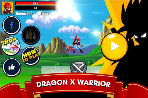 Dragon X Fighter : Dark Storm v1.1.2 APK (Mod)