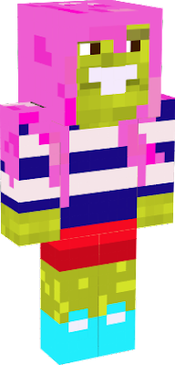 For smallish beans the minecraft gaming youtuber! Here is your kawaii skin