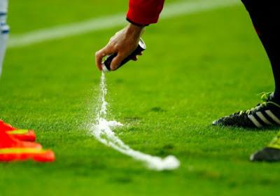 'Vanishing Spray' binnenkort ook in Champions League... en Premier League?