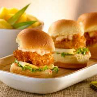 Coconut Shrimp Minis With Tropical Sauce.