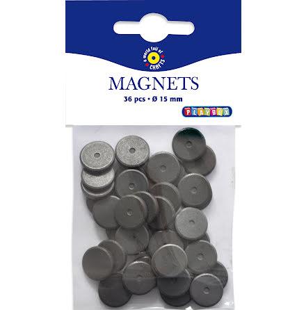 Magneter runda 15mm 36/fp