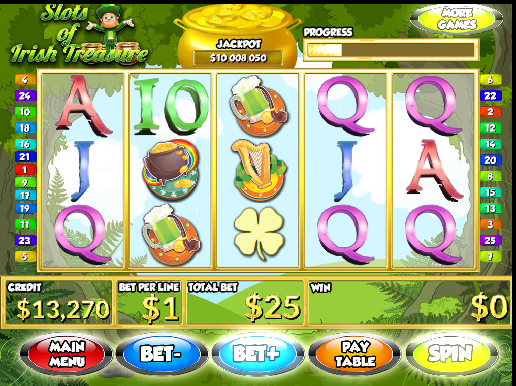 Shamrock Shuffle Slot - Try your Luck on this Casino Game
