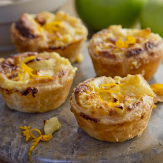 Apple And Custard Tarts
