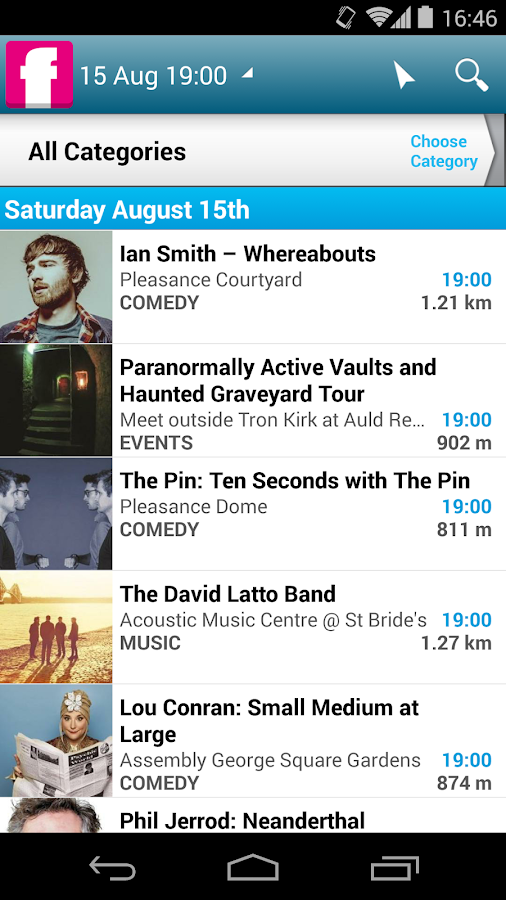 Edinburgh Festival Fringe- screenshot