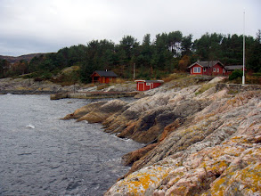 Photo: Hytter på Klokko