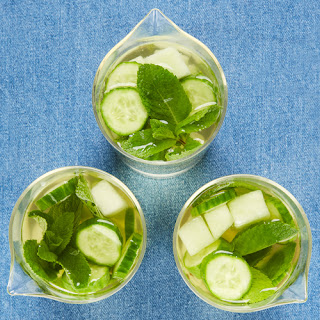Cucumber, Mint and Melon Sangria Recipe