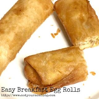 Easy Breakfast Egg Roll