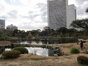 Photo: The gardens were actually tidal flats reclaimed in the 1500s.