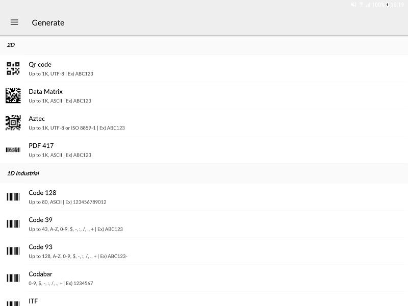 QR BarCode Screenshot 8