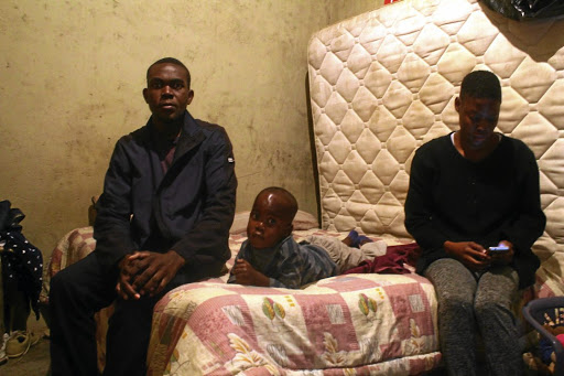 Sithole blames the state for allowing an illegal foreigner to occupy his RDP while he stays in a shack. /KABELO MOKOENA