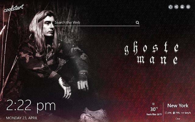 Ghostemane HD Wallpapers Rap Metal Theme