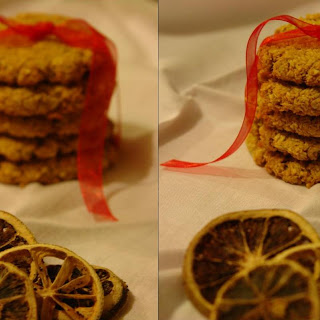Oat Biscuits , Coconut and Honey Basket Christmas # 1.