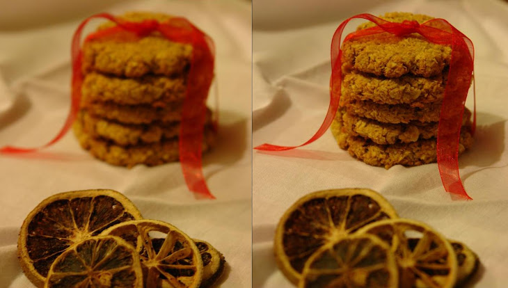 Oat Biscuits , Coconut and Honey Basket Christmas # 1 Recipe
