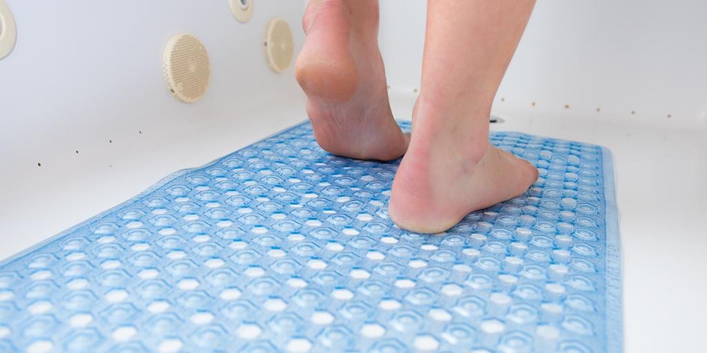 feet on surface