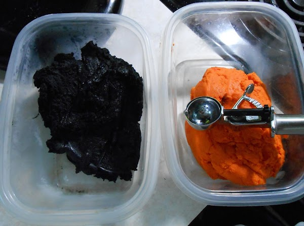 Place in covered bowl and refrigerate at least one hour or till easy to...