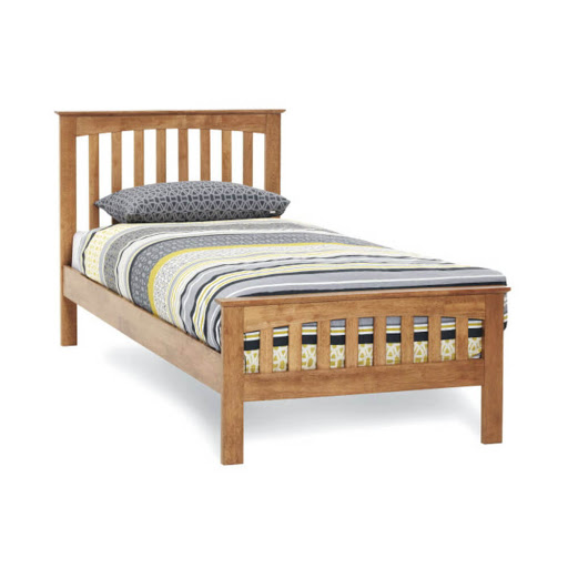 Serene Amelia Bed Frame Honey Oak