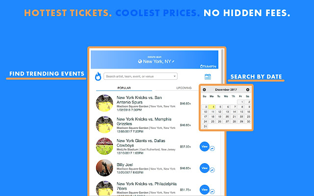 TicketFire - Sports Concerts Theater Tickets