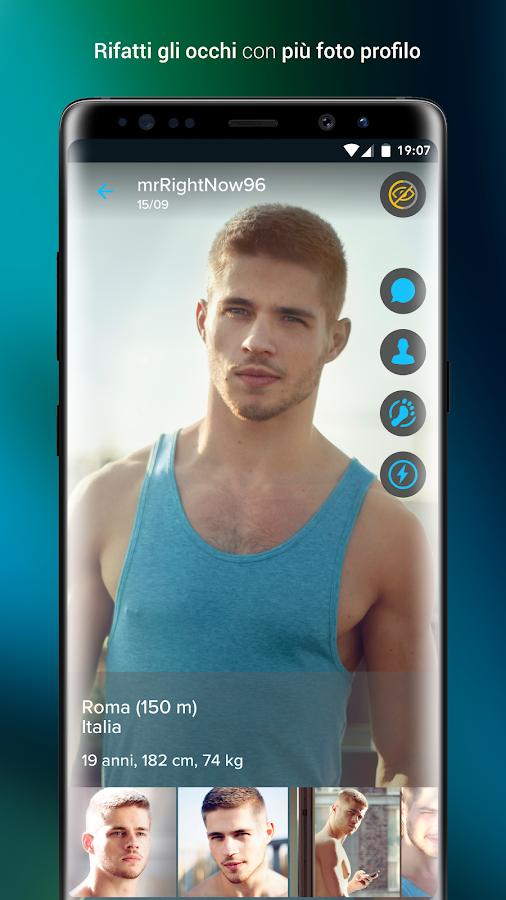 ROMEO - Gay Chat e Incontri - App Android su Google Play