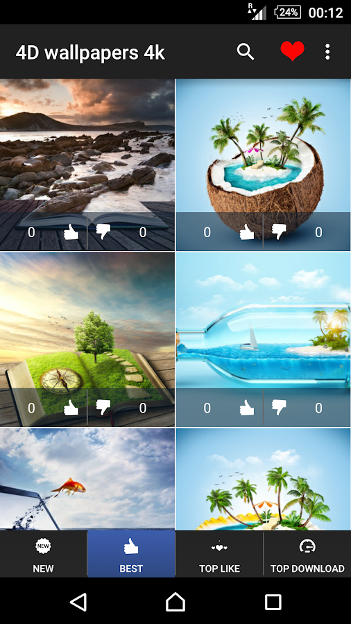 4D Wallpapers 4K  Android Apps on Google Play