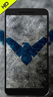 Nightwing Wallpaper HD - náhled