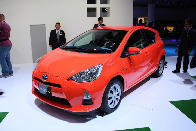 Photo: AQUA - Toyota Booth Photos : Press Day – Tokyo Motor Show 2011