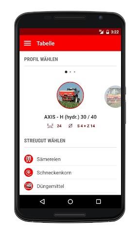 android RAUCH Fertilizer Chart Screenshot 1