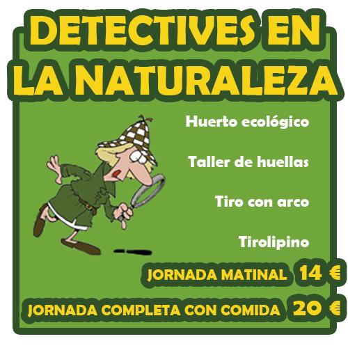 Detectives en la naturaleza