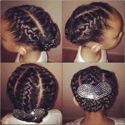 Braid Hairstyle Woman & Child