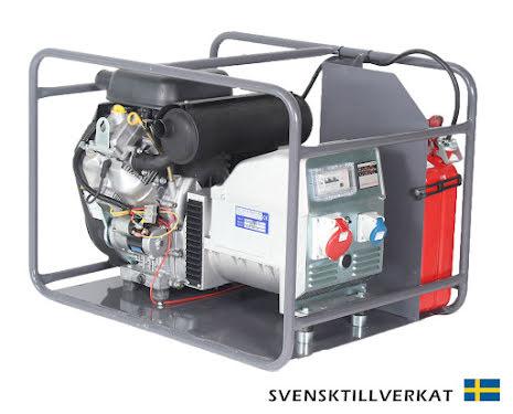 Bensinelverk KVM V 16000E Inkl. hjulsats