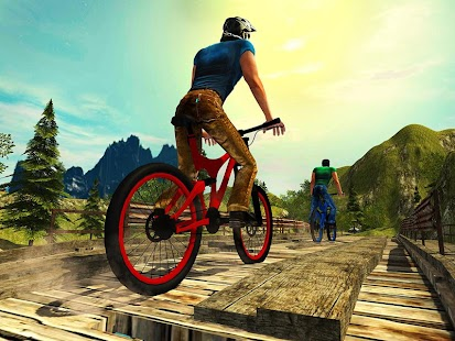 Uphill Offroad Bicycle Rider- screenshot thumbnail