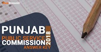 PPSC Prelims Answer Key 2020