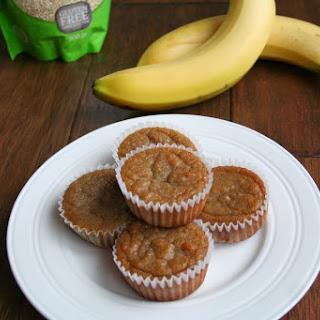 Coconut Banana Quinoa Muffins (Dairy, Gluten/Grain and Refined Sugar Free).