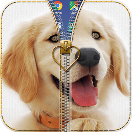 小狗拉链锁 個人化 App LOGO-硬是要APP