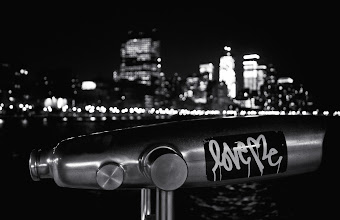 Photo: Night Evocations - Hudson River Park - New York City ---   You can purchase prints of this image here:  http://goo.gl/XI4Bf