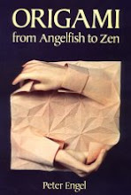 Photo: Origami from Angelfish to Zen Engel, Peter  Dover Pubns; 1990 Paperback - 248 pp, reprint edition (September 1994) size 11.99 x 9.03 ins ISBN 0486281388