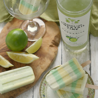 Lemon-Lime Margarita Creamsicles