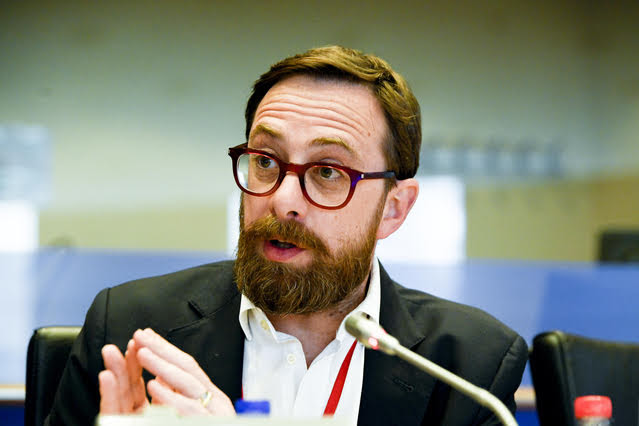 Daniele Viotti - photo credit: Emilie Gomez © European Union 2018 - Source: EP