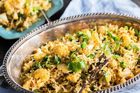 Cauliflower And Peas Pulao