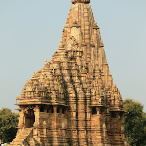 Standing tall by Srivenkata Subramanian - Buildings & Architecture Places of Worship ( history, temples, old, khajuraho, india, kings,  )