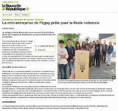Photo: 2014-06-02 NR La mini-entreprise de Péguy prête pour la finale nationale