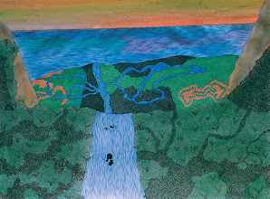 "Photo: Illusive Perceptions - Final Destination 30"" x 40"" 2000 - 2004 Pen & Ink on paper"
