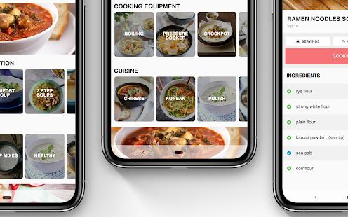 Soup Recipes – Soup Cookbook app 5