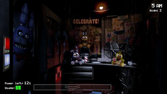 Five Nights at Freddy's (MOD, Unlocked) 3