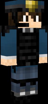 Minecraft Skin Wallpaper Girl Police Officer Nova Skin